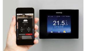 Produkteinführung des neuen Warmup 4iE Smart Thermostat